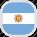 argentina, flag, world