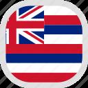 flag, hawaii, world