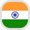flag, india, world icon