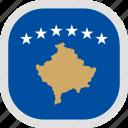 flag, kosovo, world