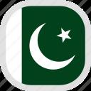 flag, pakistan, world icon