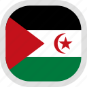 world, western, flag, sahara