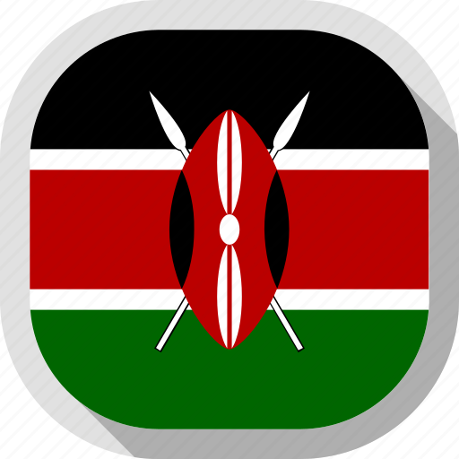 Circle, country, flag, kenya, rounded, square icon - Download on Iconfinder
