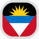 antigua, barbuda, world, flag