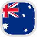 australia, flag, world