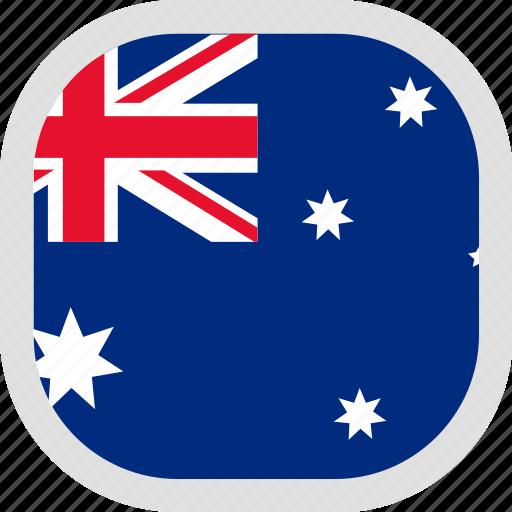 australia, flag, world icon