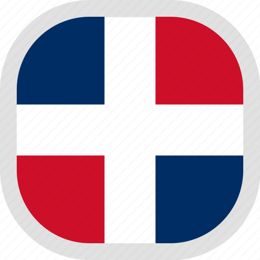 Dominican, flag, republic, world icon - Download on Iconfinder