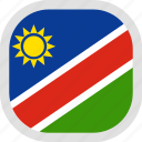 flag, namibia, world