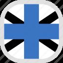 estonia, flag, jack, naval, world