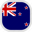 flag, zealand, world, new