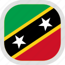 flag, kitts, nevis, saint, world