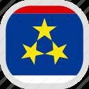 world, flag, vojvodina