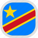congo, democratic, flag, new, republic, world