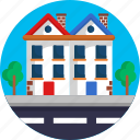 arhitectire, building, construction, map, navigation, residential location