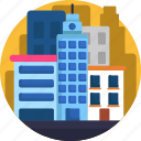 city, city center, downtown, map, navigation