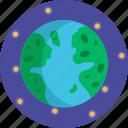 earth, map, navigation, planet, world