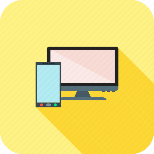 device, devices, display, lcd, mobile, screen icon