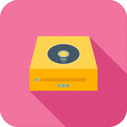 drive, dvd, multimedia, player icon