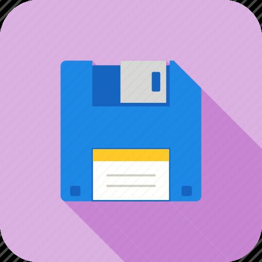 data base, diskette, document, file, floppy, storage icon