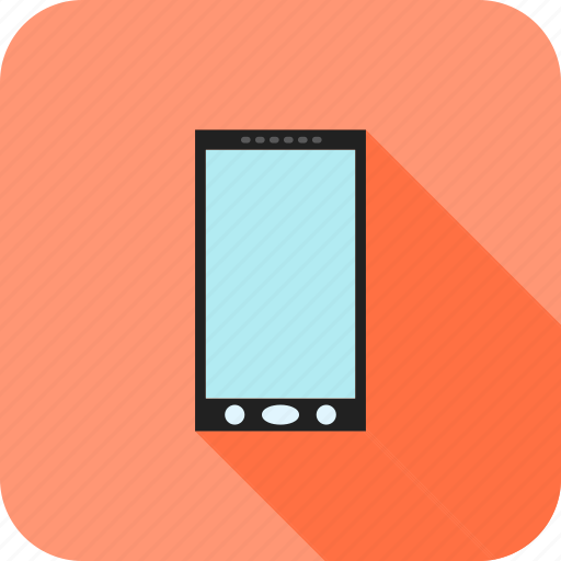 cell, device, mobile, phone, screen, smartphone icon