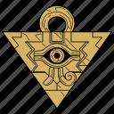 millennium items, millennium puzzle, puzzle, yugioh icon