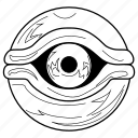 eye, eyeball, millennium eye, millennium items, yugioh icon
