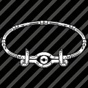 millennium items, millennium necklace, necklace, yugioh icon