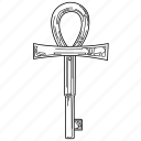 key, millennium items, millennium key, yugioh icon