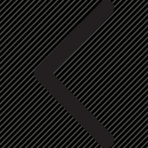 arrow, back, direction, left, navigation, previous icon