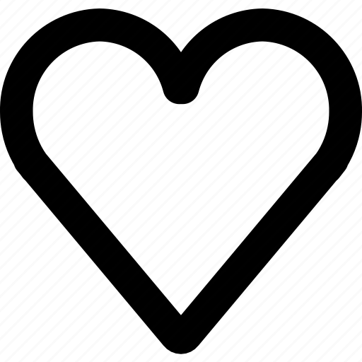 heart, like, love, romantic, valentine icon