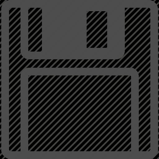 a, disk, floppy, memory, retro, save icon
