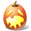 halloween, hysterical, jack o lantern, pumpkin icon