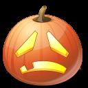 sad, halloween, jack o lantern, pumpkin