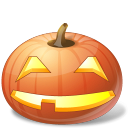 halloween, jack o lantern, pumpkin, smile icon