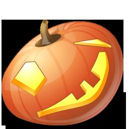 halloween, jack o lantern, pumpkin, wink icon