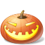 halloween, jack o lantern, laugh, pumpkin icon