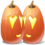halloween, jack o lantern, love, pumpkin icon