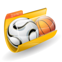 basket, folder, soccer, sport icon
