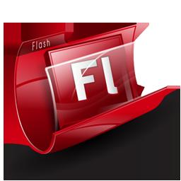 adobe, flash, folder, photofiltre icon