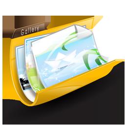 folder, gallery, pictures, portfolio icon