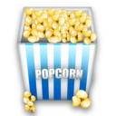 popcorn, snacks icon