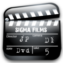 movie, scene icon