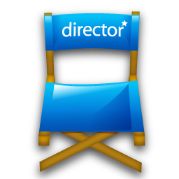 Chair Director Hollywood Movie Icon
