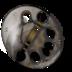 disc, predator icon