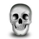 halloween, head, skeleton, skull icon
