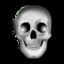 halloween, head, skeleton, skull icon