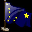 alaska, flag icon