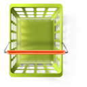 ecommerce, shopping basket, webshop icon