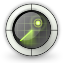 find, locate, nearby, radar icon