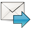 fwd, mail icon
